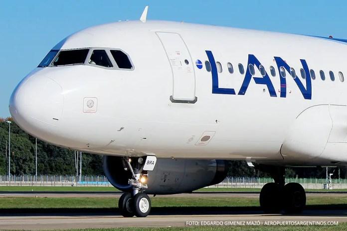 Airbus A320 LV-BRA de LAN Argentina