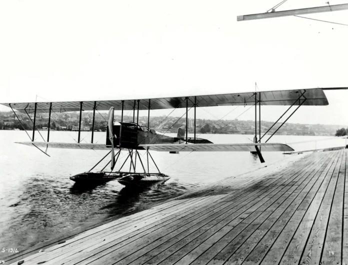 B & W Seaplane - Boeing Model 1 (Foto: The Boeing Company)