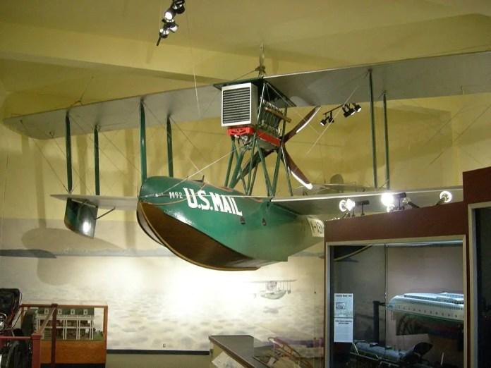 Boeing Model 6 en exhibición en el Museo de Historia e Industria de Seattle. Foto: Joe Mabel