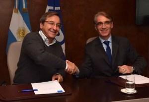 Juan Pedro Irigoin (YPF) y Carlos Alfonsi (YPF)