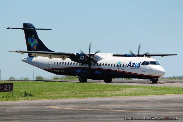 ATR 72-600 de Azul en Uruguaiana