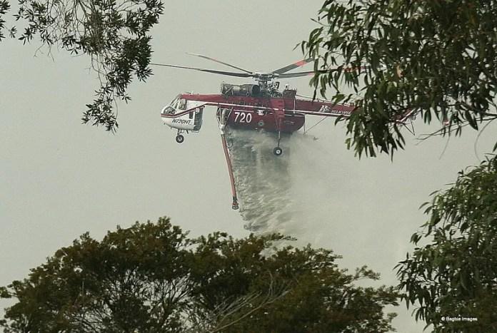 Sikorsky S-64 Skycrane (Foto: Patrick Begbie / Wikimedia Commons)