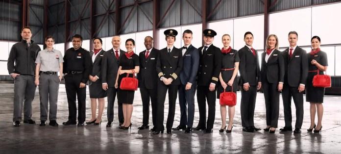Air Canada - Nuevos uniformes 2017