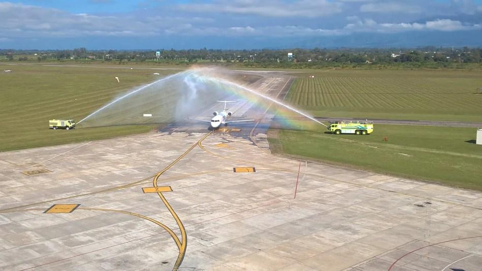 Foto gentileza de Julio Arias - Leandro Melgar (Facebook Aeropuertos de Salta)