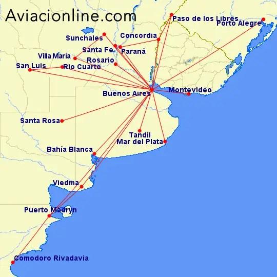 Avianca Argentina - rutas primera audiencia