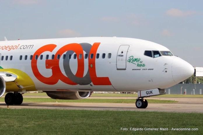 Gol - Boeing 737-800 PR-GUK - Aeroparque