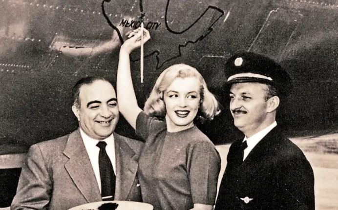 Una de sus pasajeras más famosas fue Marilyn Monroe