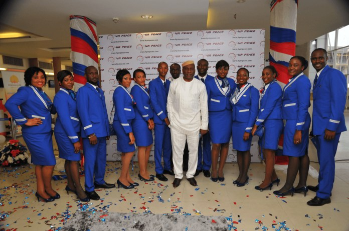 Air Peace crew members