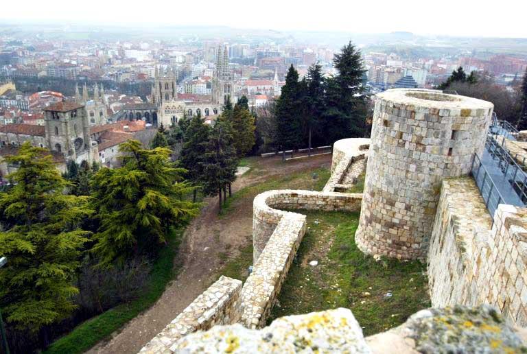 Castillo y mirador - Un día en Burgos