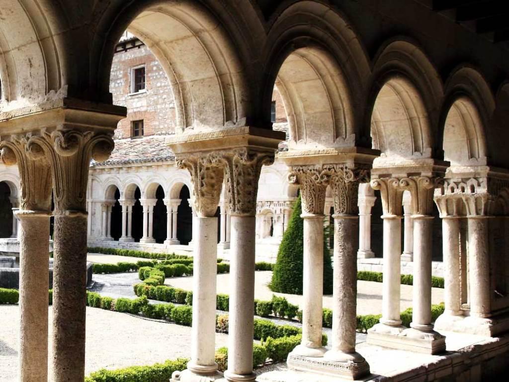 Claustro del Monasterio de Huelgas - Un día en Burgos