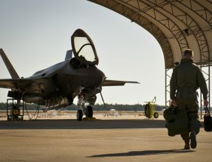 F-35A-shelter