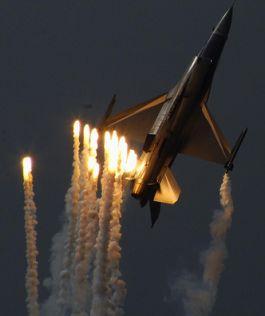 f-16 flares