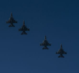 F-16s depart for Romanian-US exercise