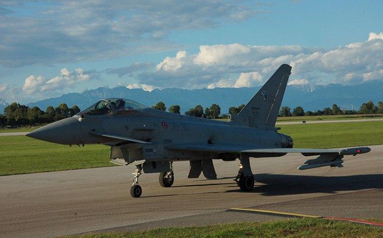 eurofighter al 55° anniversario frecce tricolori