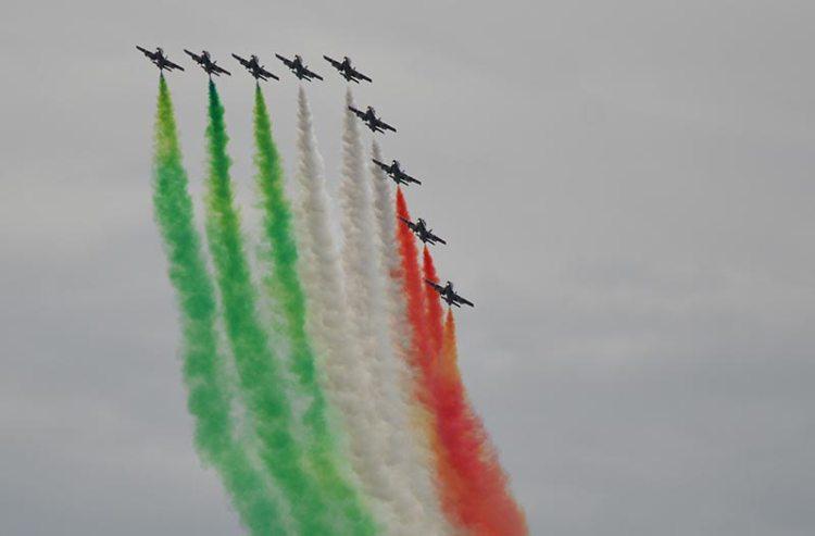frecce tricolori air show forte dei marmi 2014