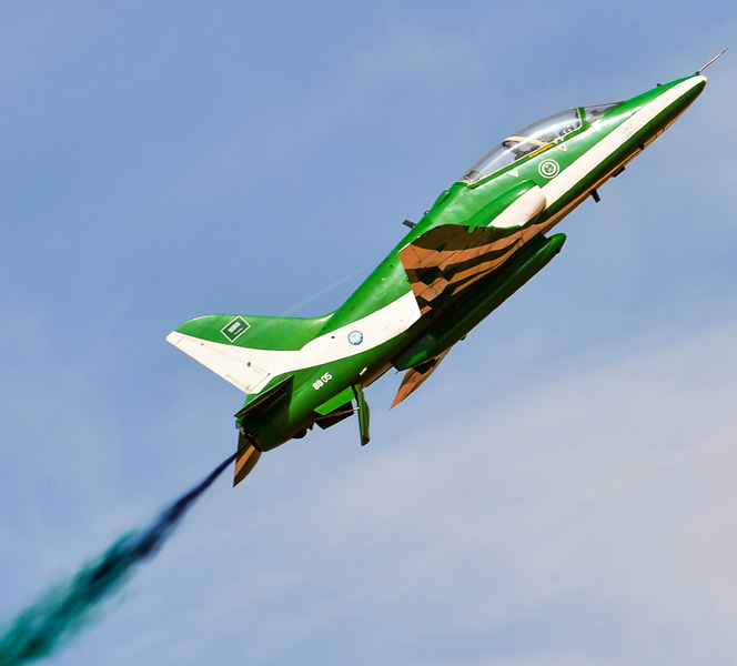 rsaf aerobatic team saudi hawks