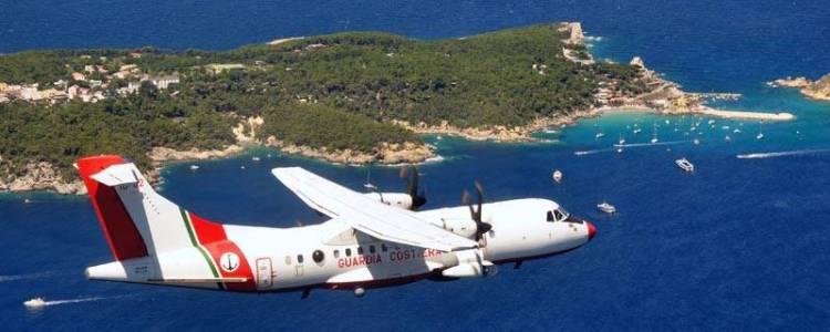 3° nucleo aereo guardia costiera pescara fontanelle atr-42mp