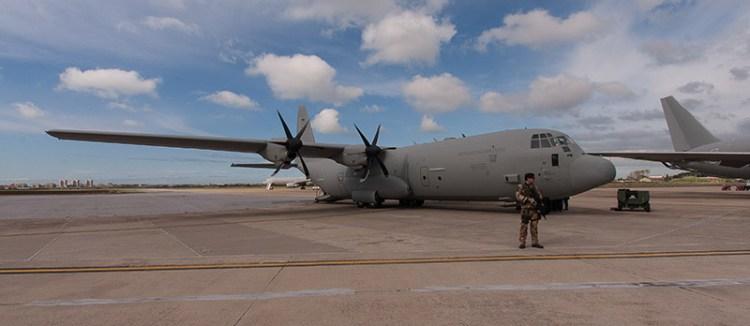c130j hercules aeronautica militare pratica di mare
