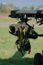 A129cbt Mangista dettaglio lanciatore missili