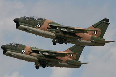 gli A-7E Corsair II della Grecia