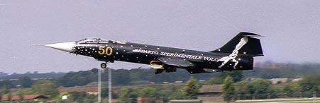 f104 special color 50 anniversario rsv in decollo