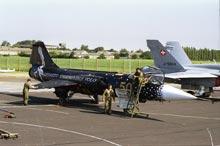 f104 50 anniversario in decollo da raf fairford 1999