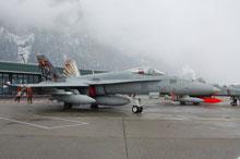F18C hornet tiger flst11 swiss air force