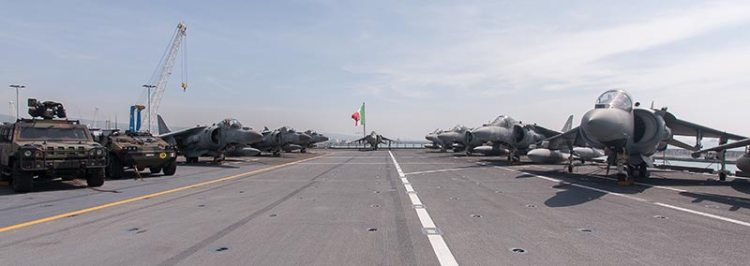 portaerei cavour marina militare