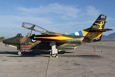 T-2E Buckeye special color for 40th anniversary of the 363 Training Squadron