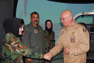 Airbase Support Air Advisory Team aeronautica militare afghanistan