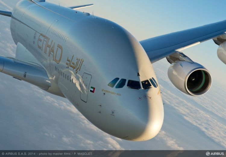 a-380 di etihad airways
