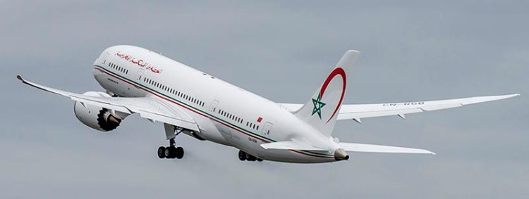 royal air maroc boeing b-787 dreamliner