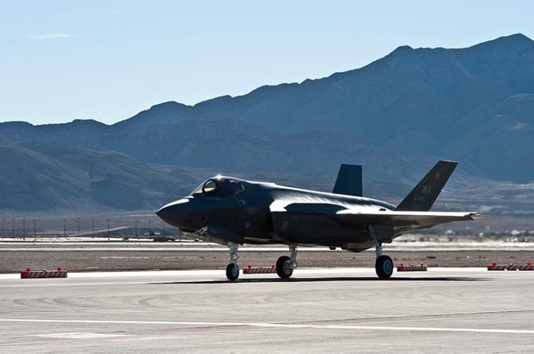F-35A US Air Force Weapons School USAFWS