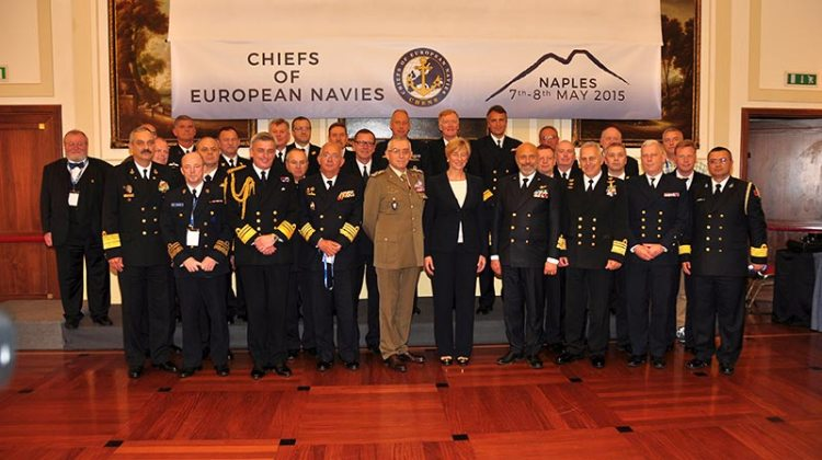 Chiefs of European Navies 2015 NATO
