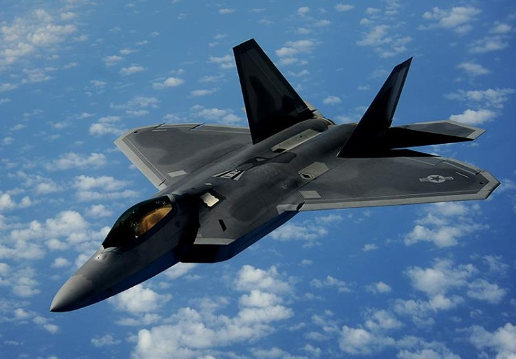 f-22 raptor us air force in europa