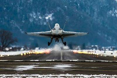 f-18 swiss air force wef 2015 davos