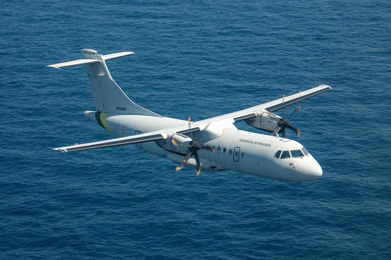 gli ATR-42 della guardia di finanza