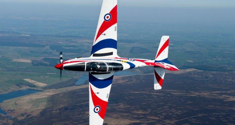 RAF Tucano Display Team 2012