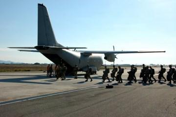 aviolancio paracadutisti folgore