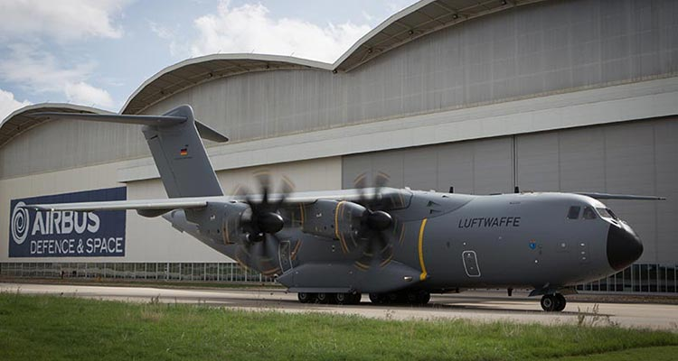 video primo volo airbus a400 atlas luftwaffe