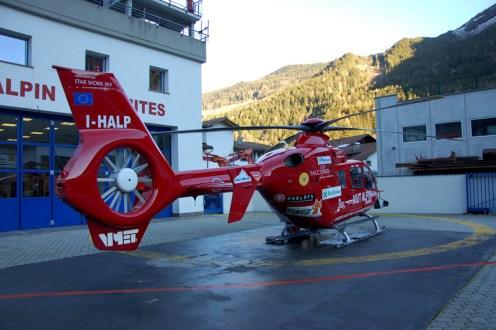 elicotteri del soccorso aereo dell'alto adige