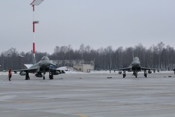 nato baltic air policing eurofighter italiani