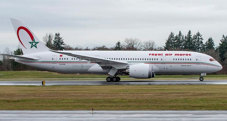 boeing b787 dreamliner royal air maroc