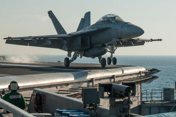 F/A-18 Super Hornets US Navy