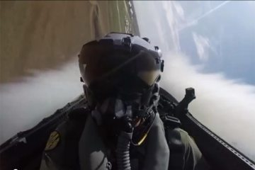 RAAF F-18 Hornet Display Pilot