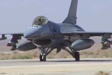 video f16 giordani in iraq e siria