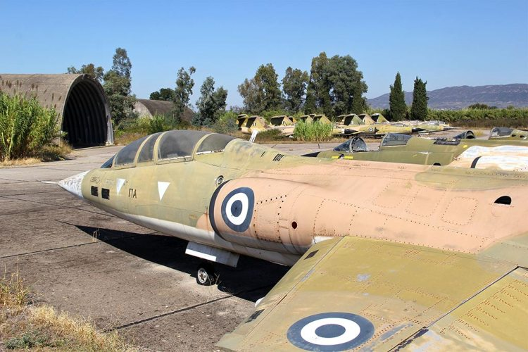tf-104 hellenic air force