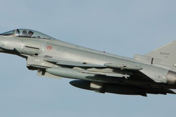 EF-2000 Typhoon Baltic Air Policing Italia