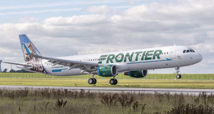 frontier airlines airbus a321 operativo