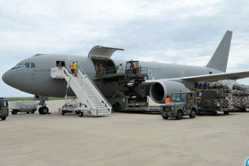 KC767A aeronautica militare aiuti umanitari in nepal